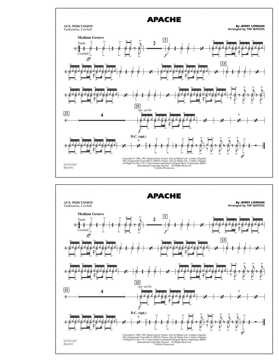Apache - Aux Percussion