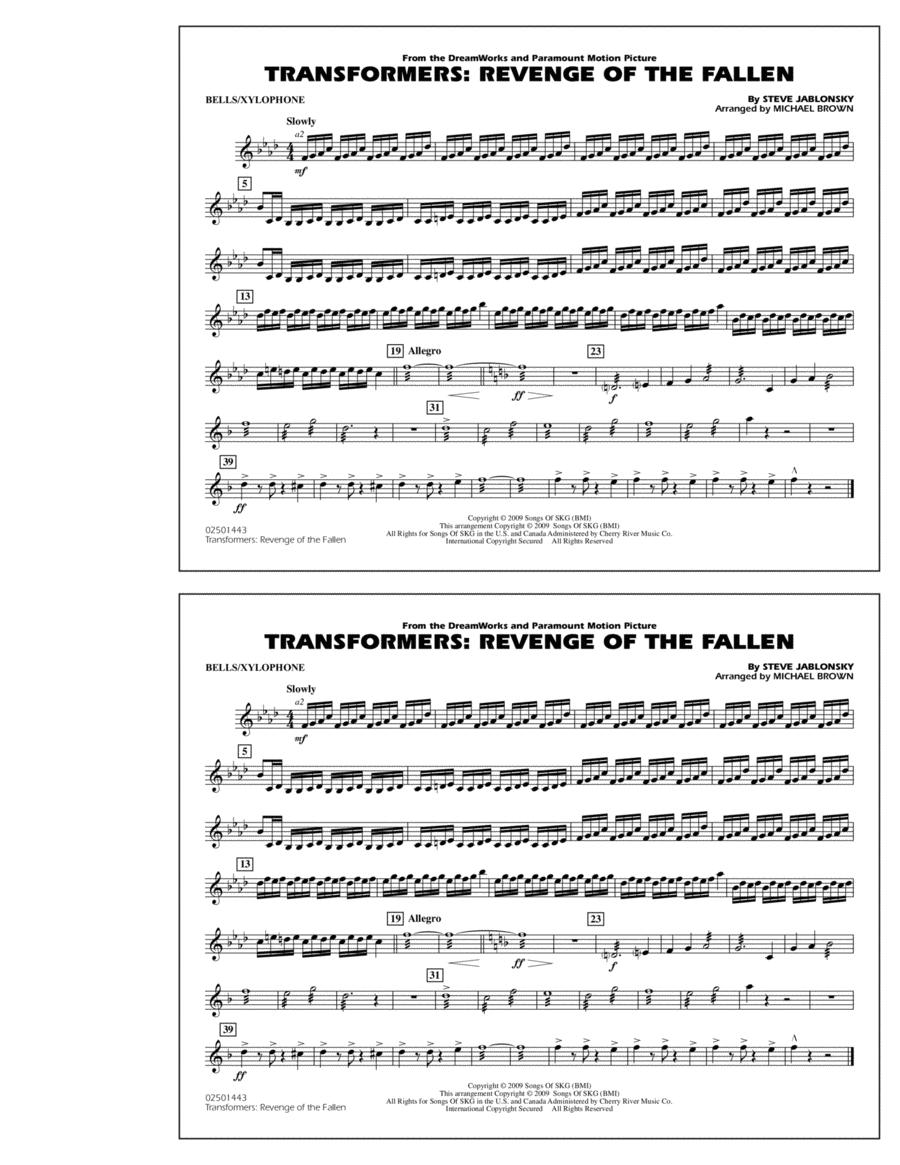 Transformers: Revenge Of The Fallen - Bells/Xylophone