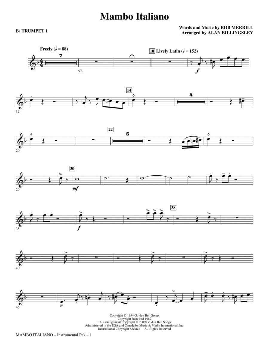 Mambo Italiano - Trumpet 1