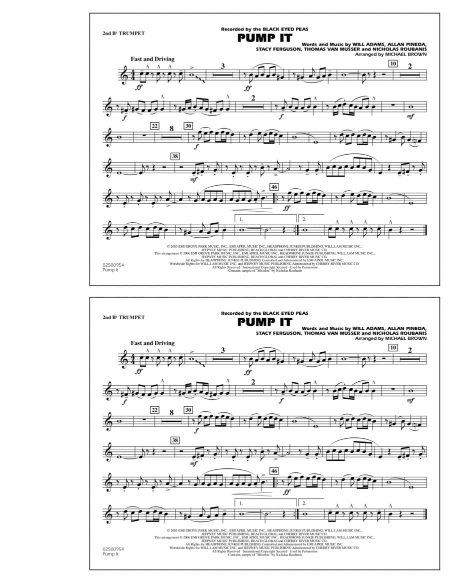 Pump It - 2nd Bb Trumpet