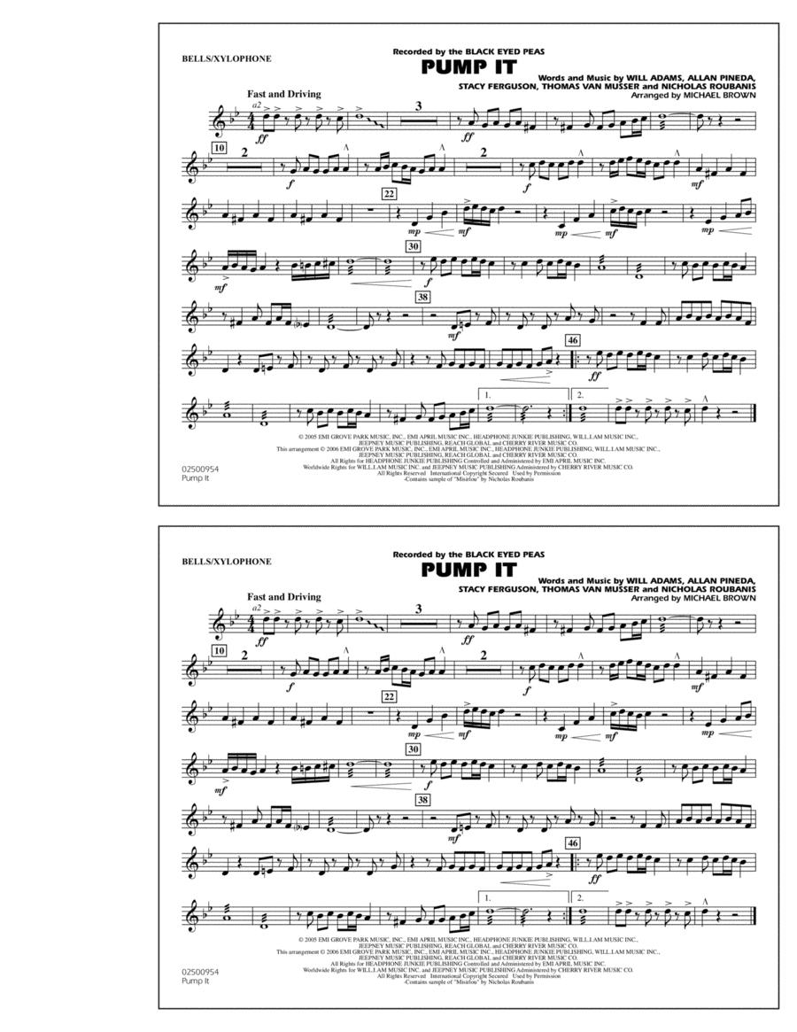 Pump It - Bells/Xylophone