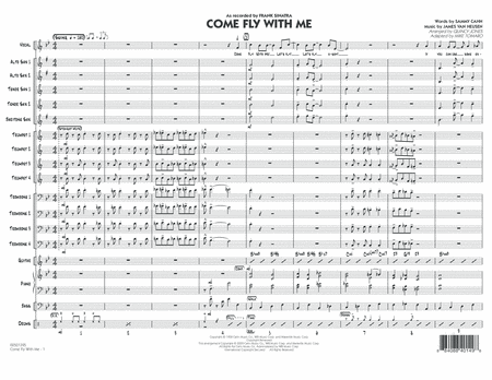 Come Fly With Me - Conductor Score (Full Score)