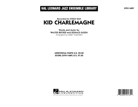 Kid Charlemagne - Conductor Score (Full Score)