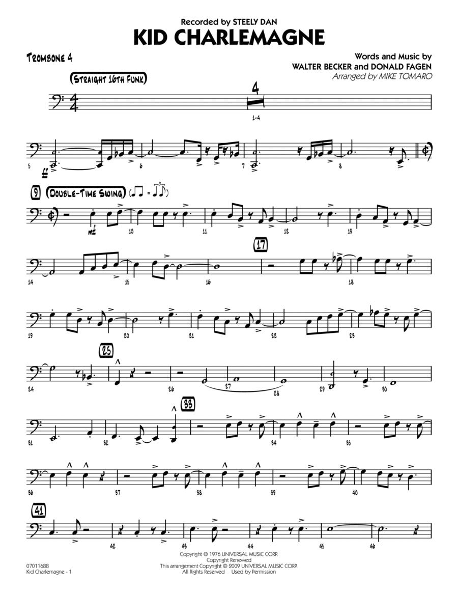 Kid Charlemagne - Trombone 4