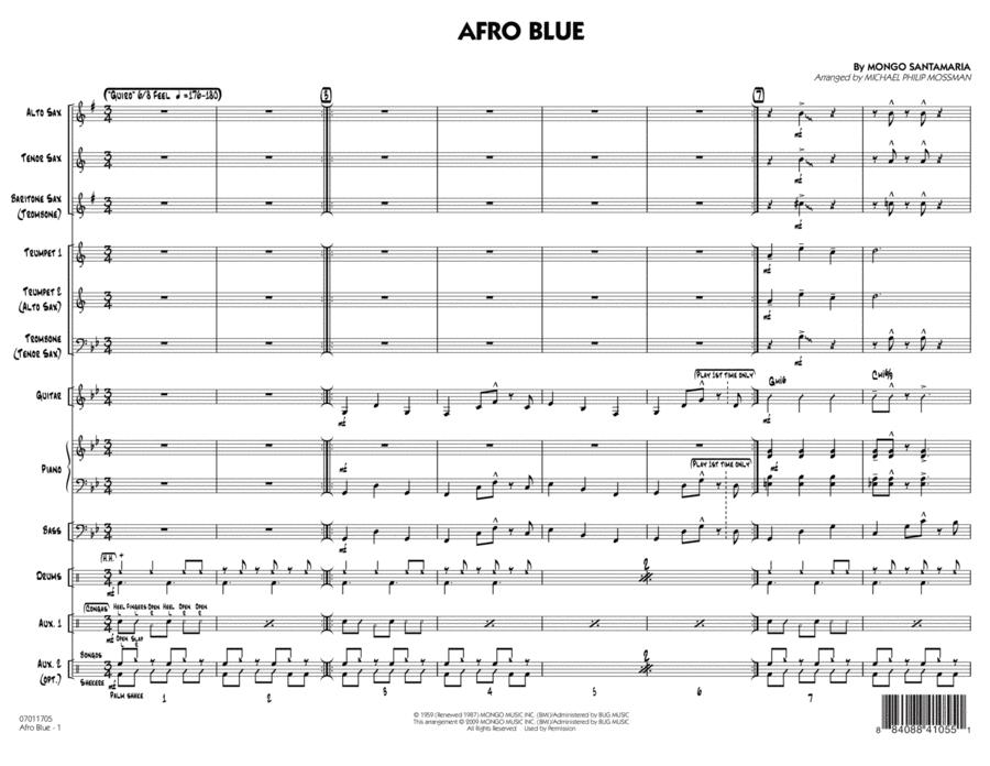 Afro Blue - Conductor Score (Full Score)