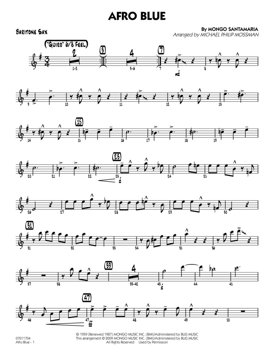 Afro Blue - Baritone Sax