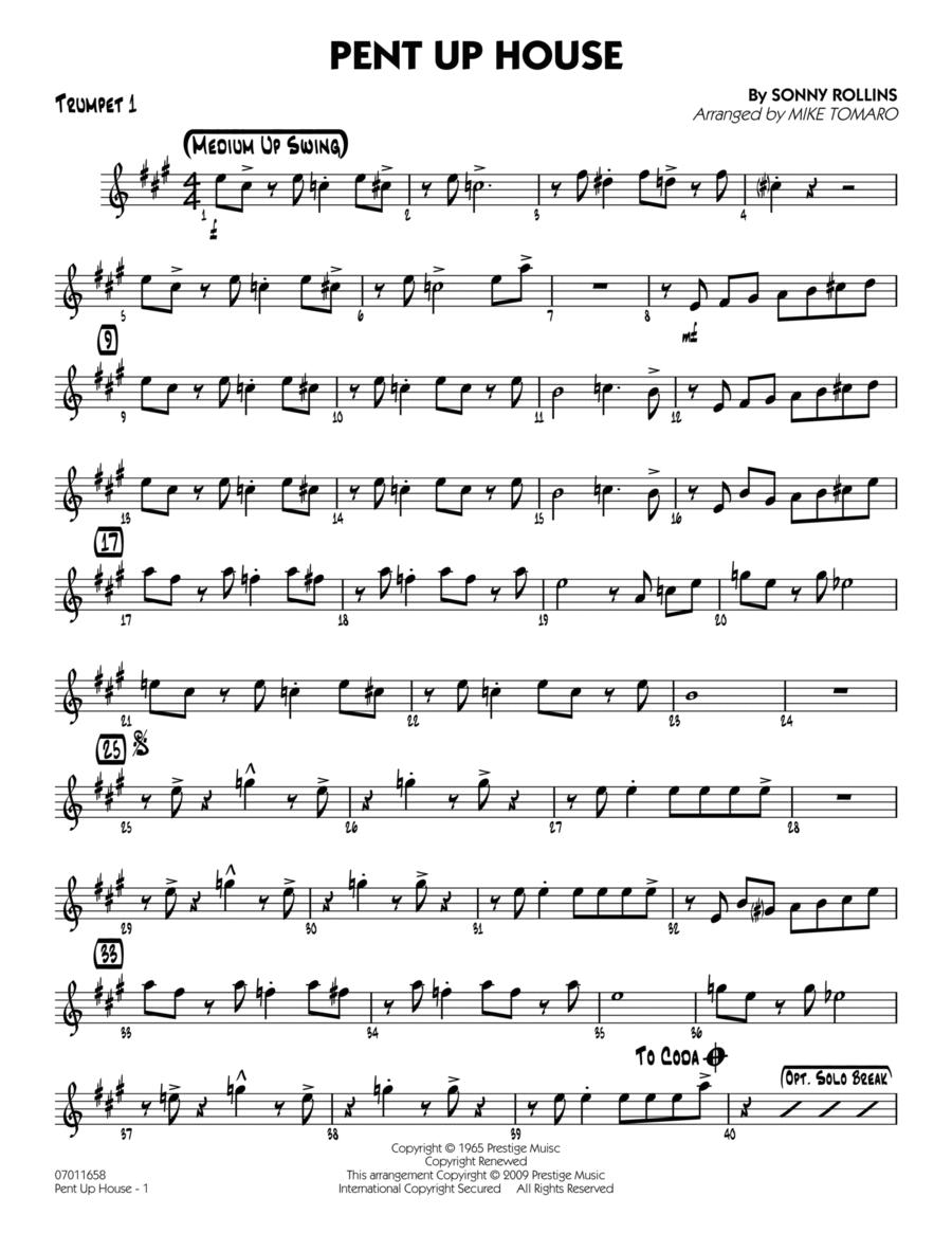 Pent Up House - Trumpet 1