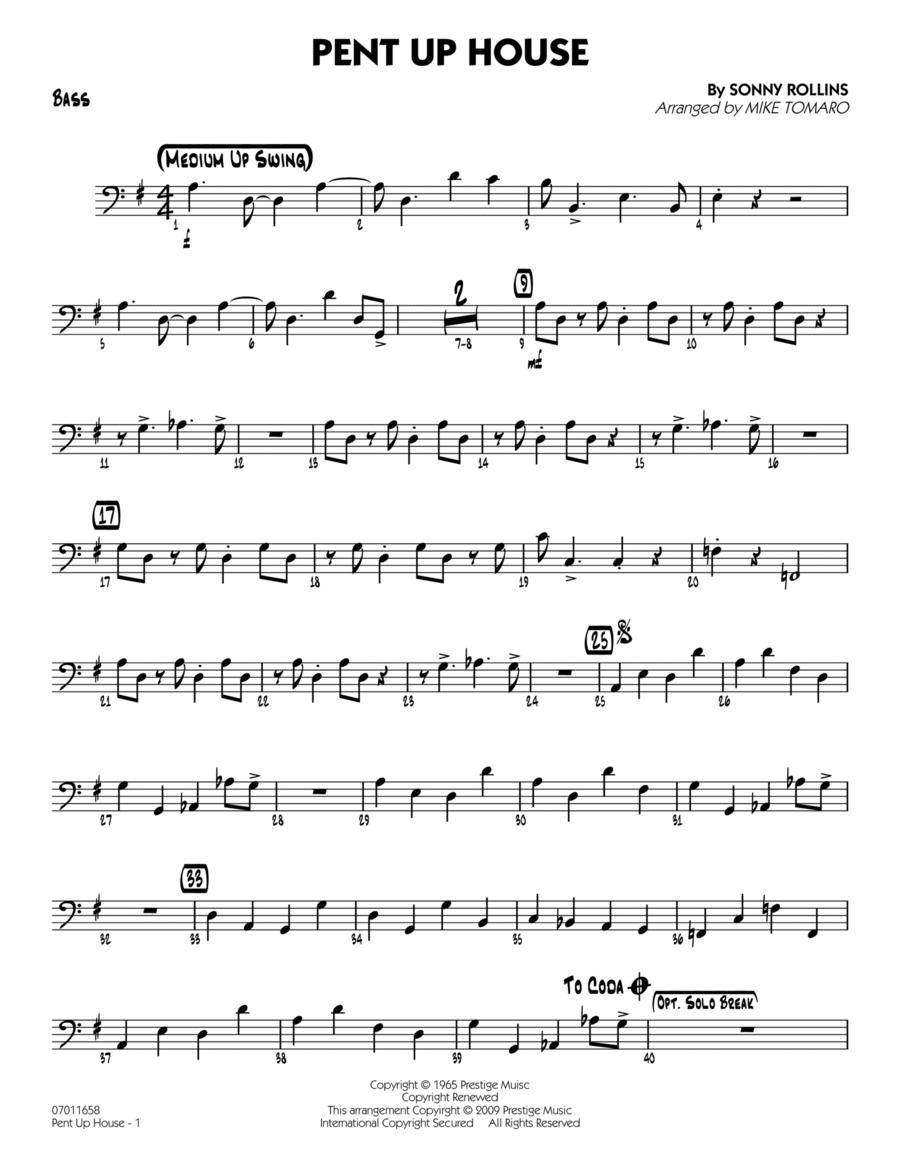 Pent Up House - Bass