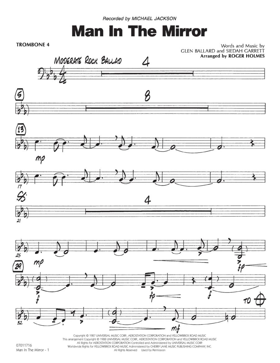 Man In The Mirror - Trombone 4