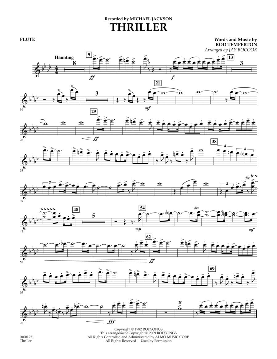 Thriller - Flute