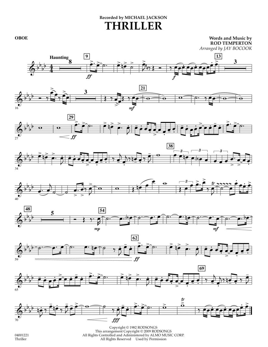 Thriller - Oboe