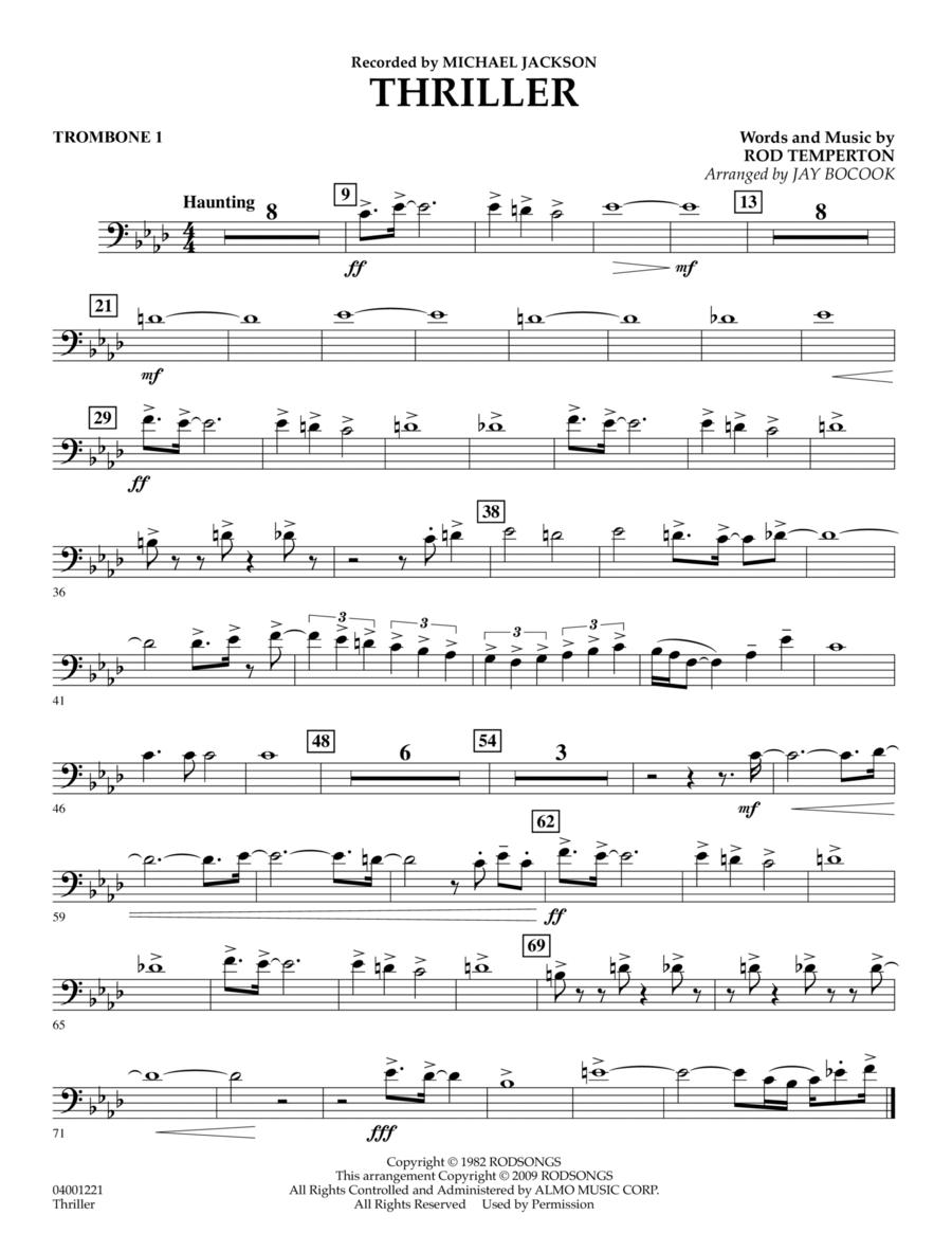 Thriller - Trombone 1