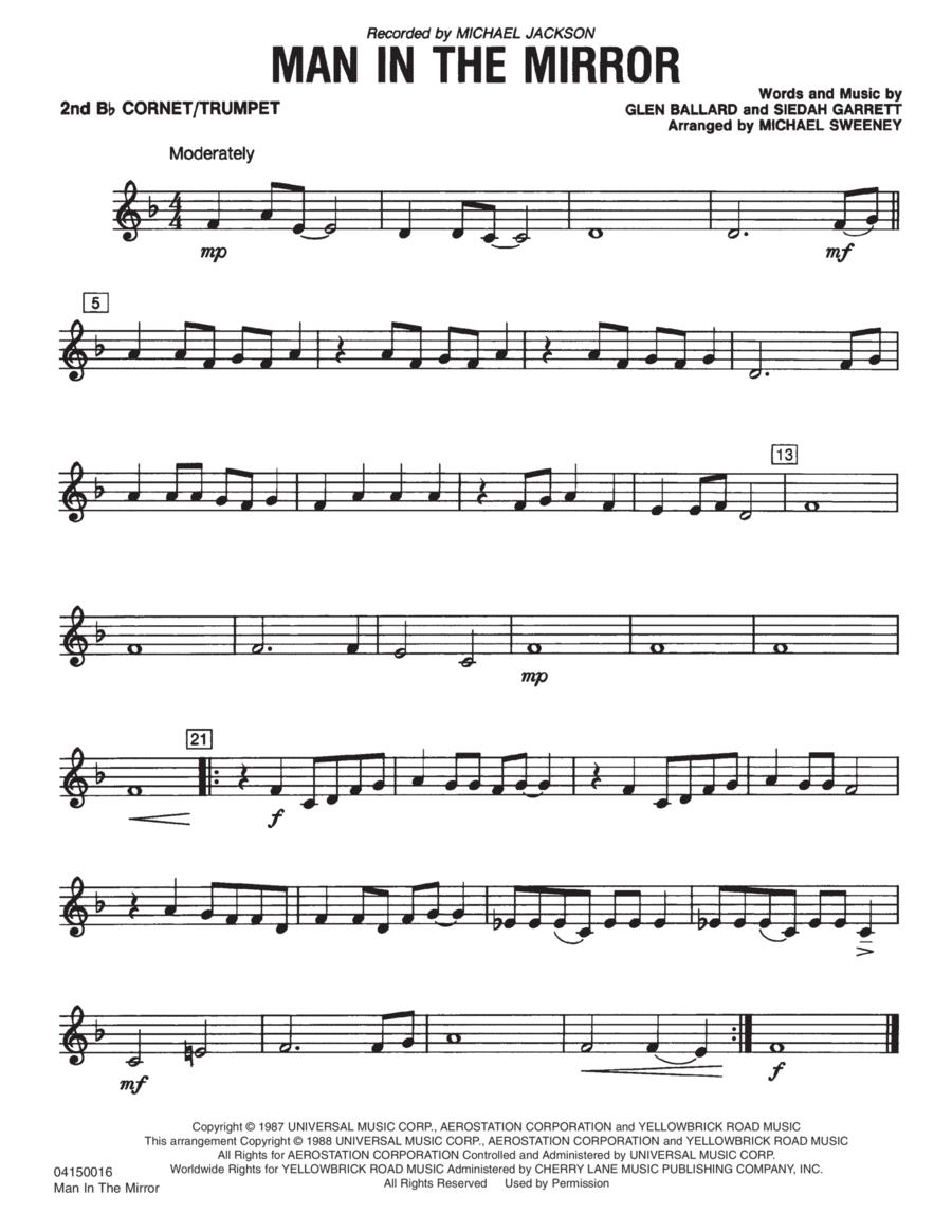 Man In The Mirror - Bb Trumpet 2