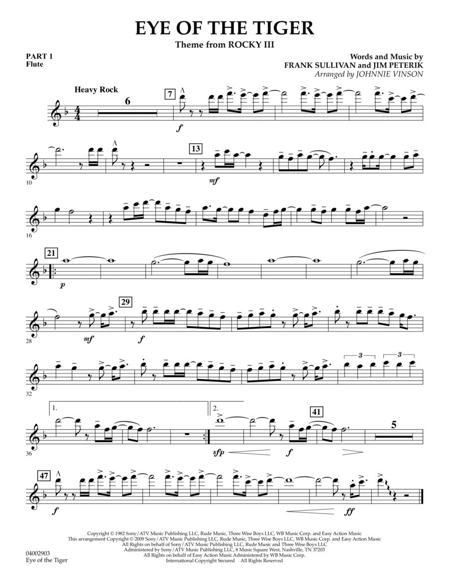 Eye Of The Tiger - Pt.1 - Flute