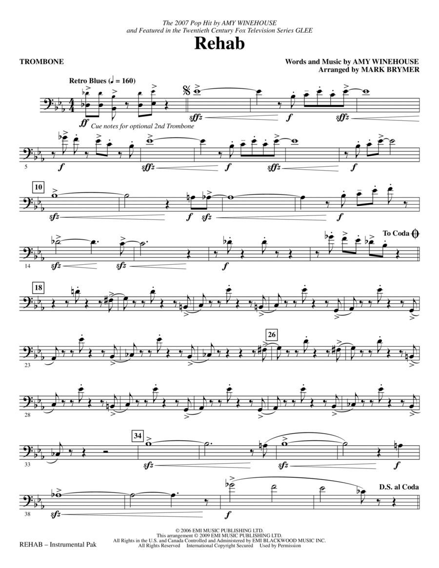 Rehab - Trombone