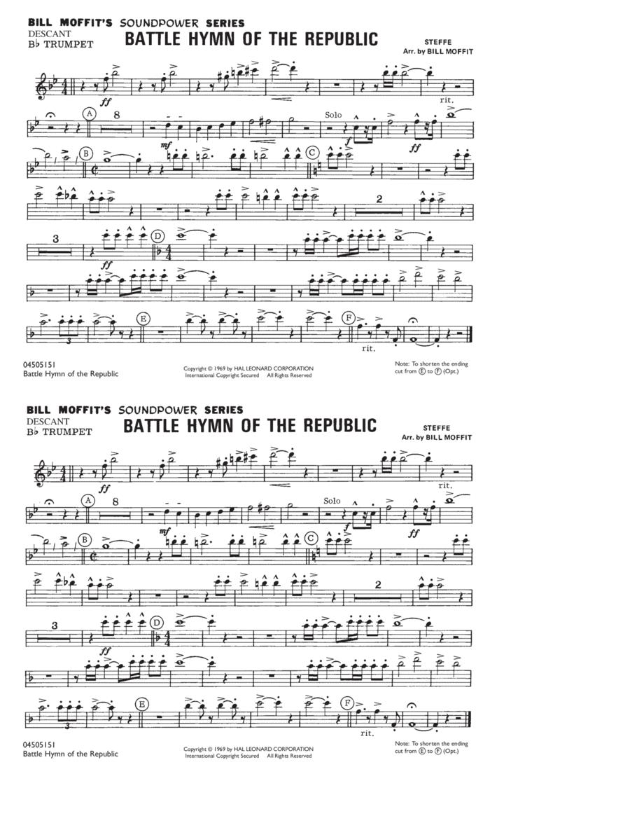 Battle Hymn Of The Republic - Descant Bb Trumpet