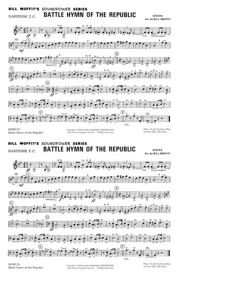 Battle Hymn Of The Republic - Baritone T.C.