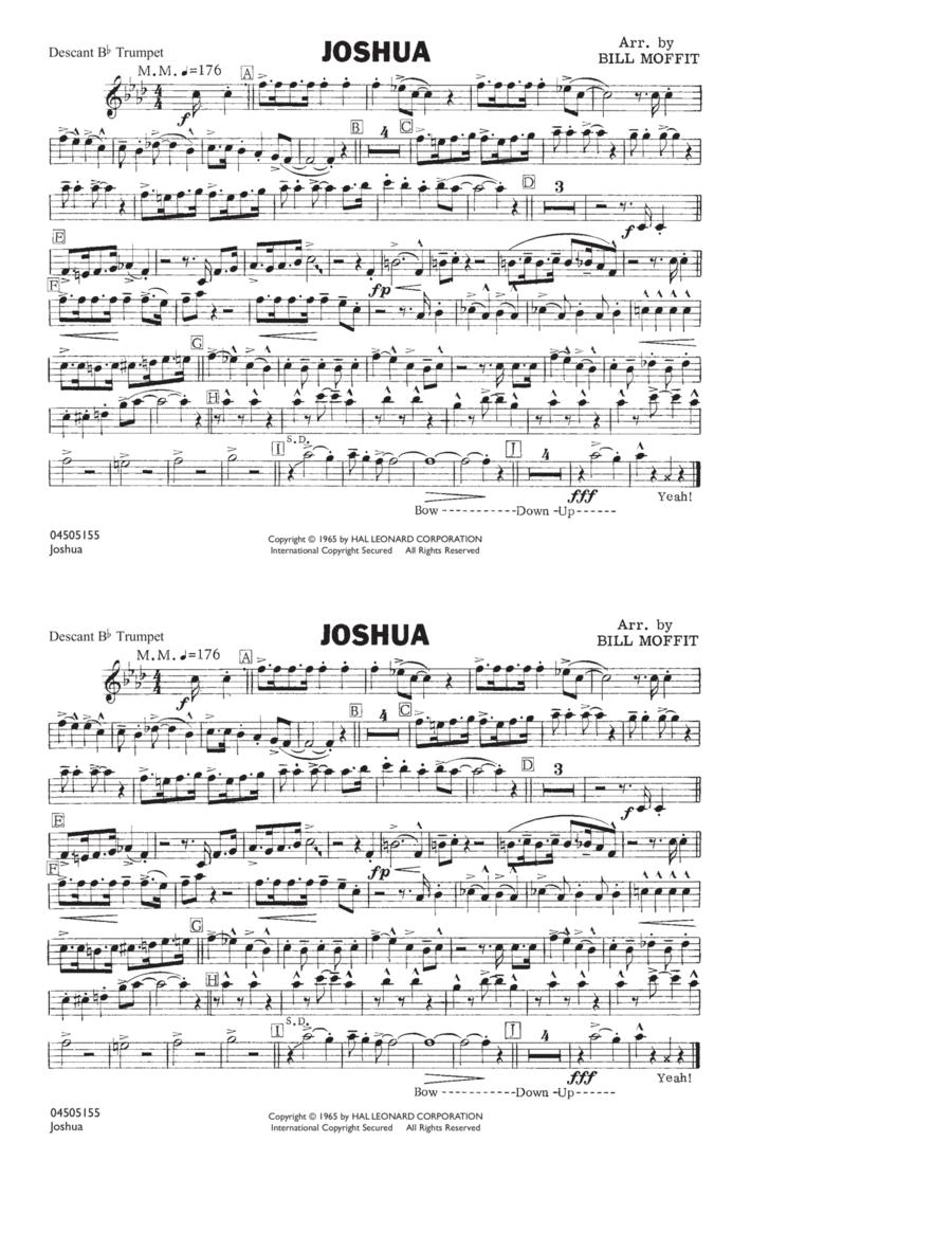 Joshua - Descant Bb Trumpet