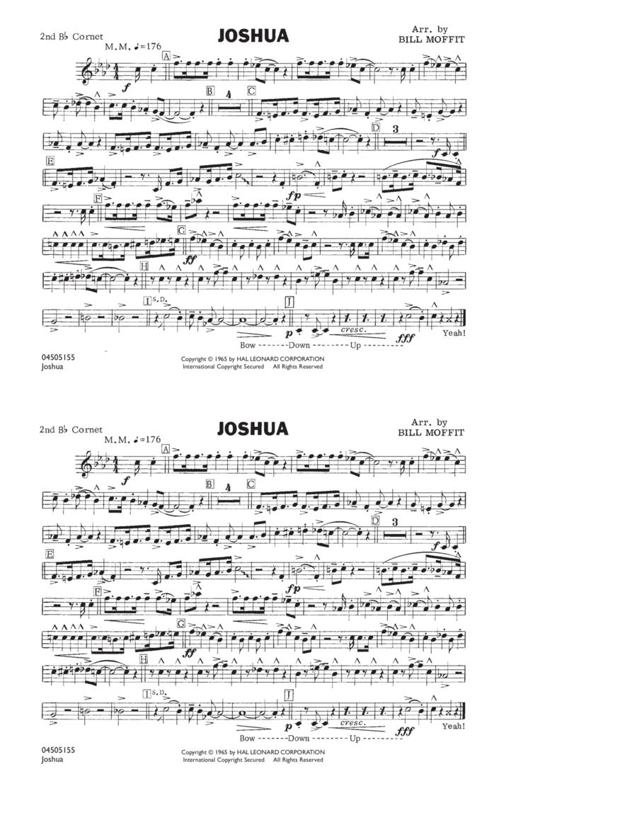 Joshua - 2nd Bb Cornet