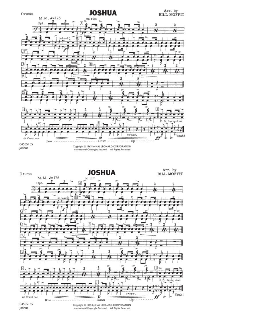 Joshua - Drums