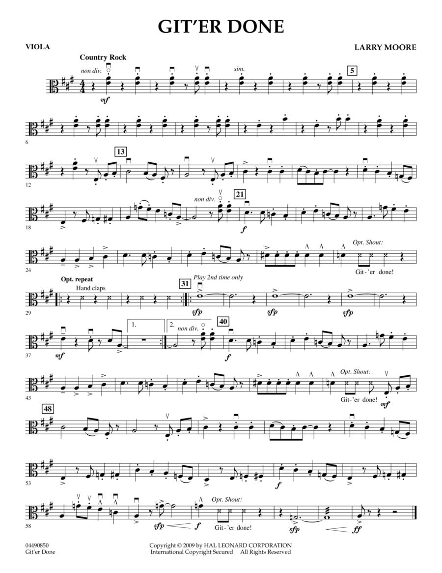 Git'er Done - Viola