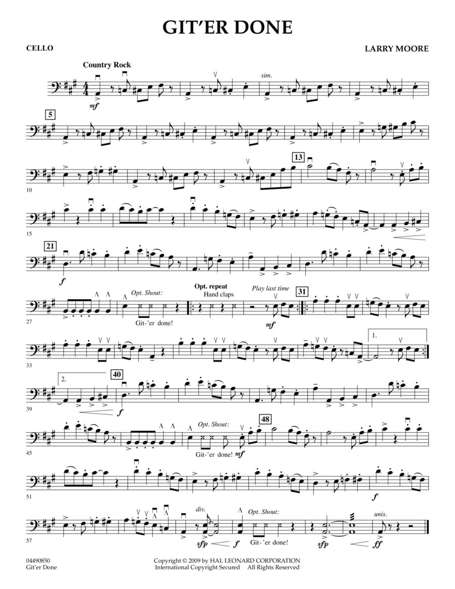 Git'er Done - Cello