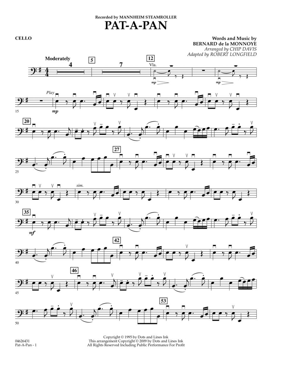 Pat-A-Pan - Cello