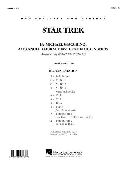 Star Trek - Full Score