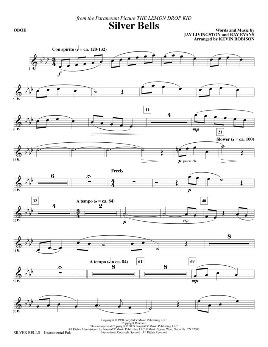 Silver Bells - Oboe