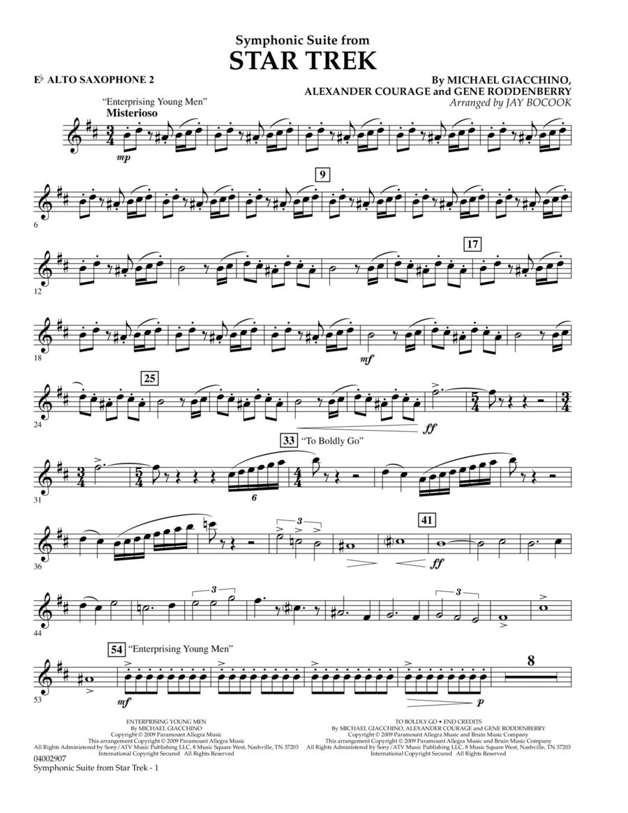 Symphonic Suite from Star Trek - Eb Alto Saxophone 2