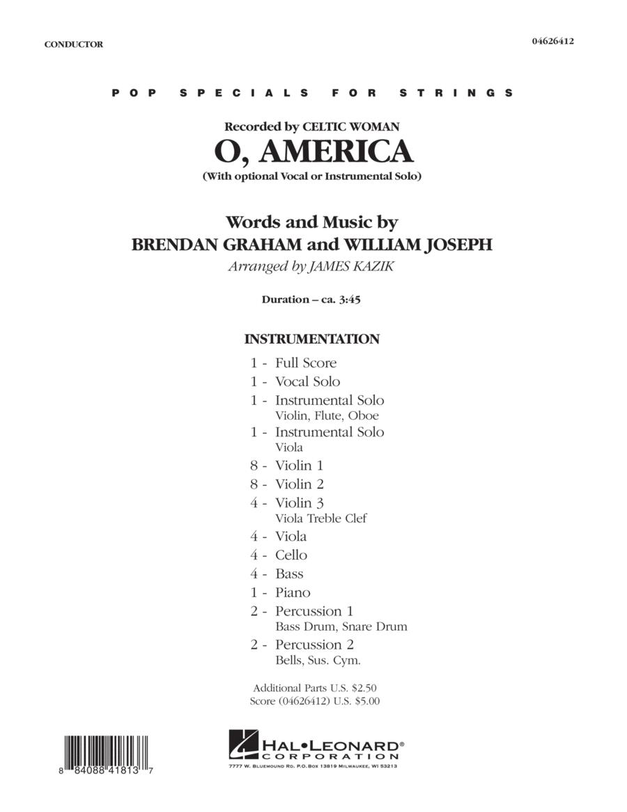 O, America - Full Score