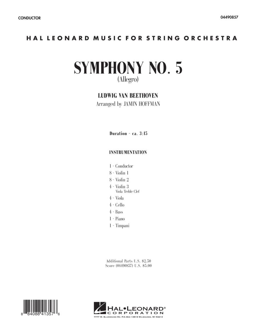 Symphony No. 5 (Allegro) - Full Score