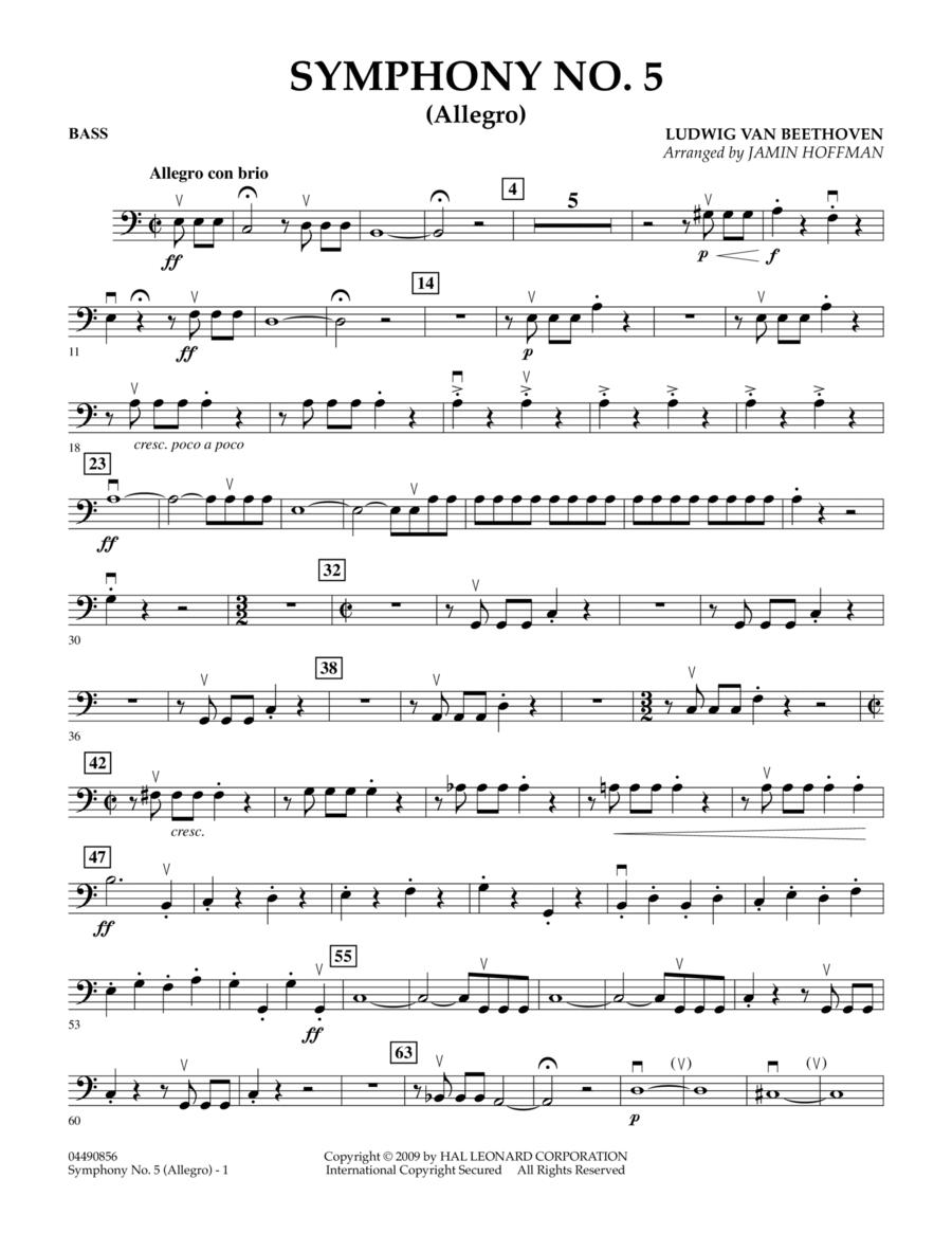 Symphony No. 5 (Allegro) - Bass