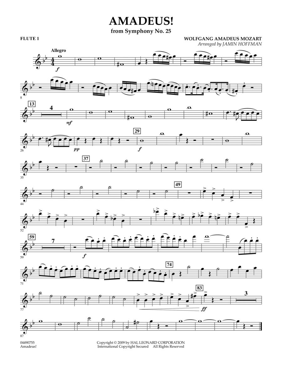 Amadeus! - Flute 1