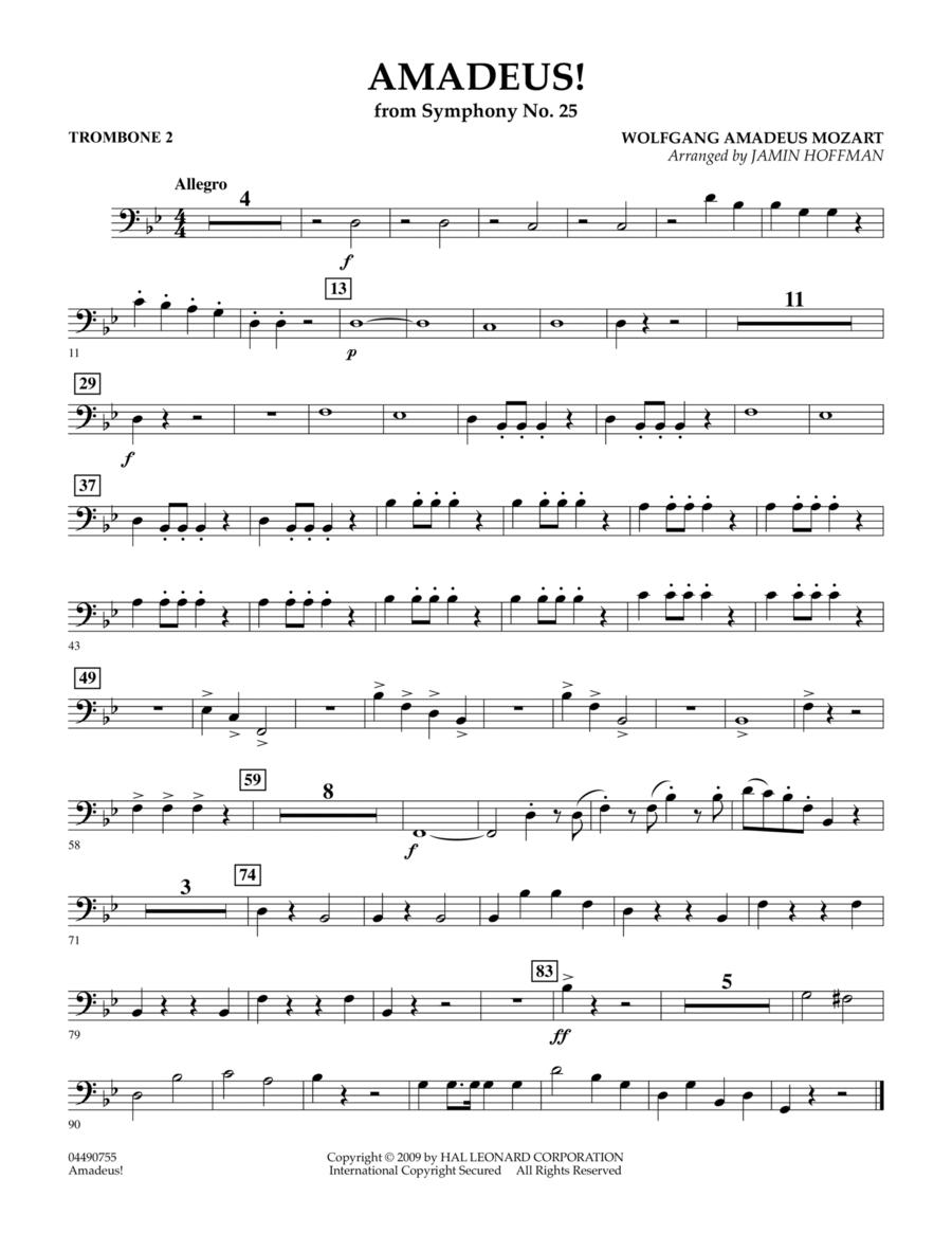 Amadeus! - Trombone 2
