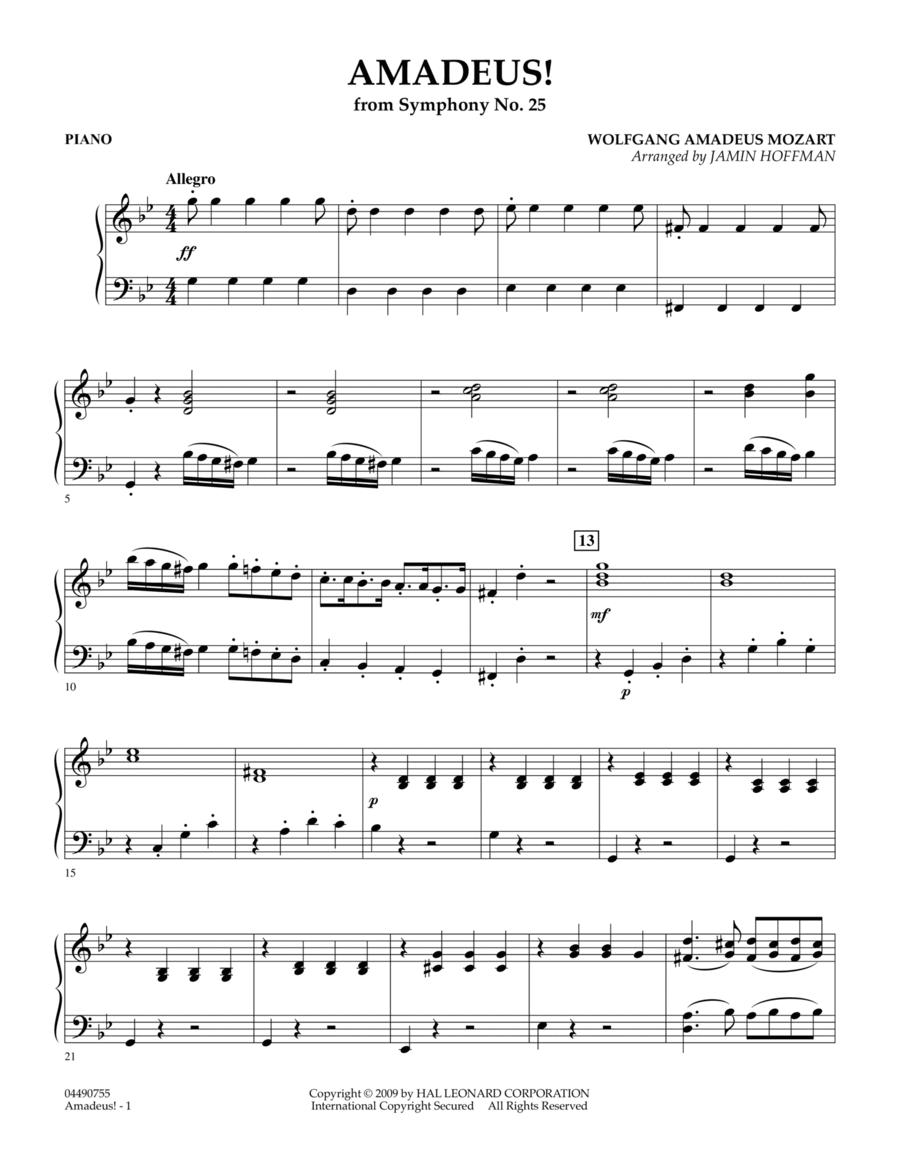 Amadeus! - Piano