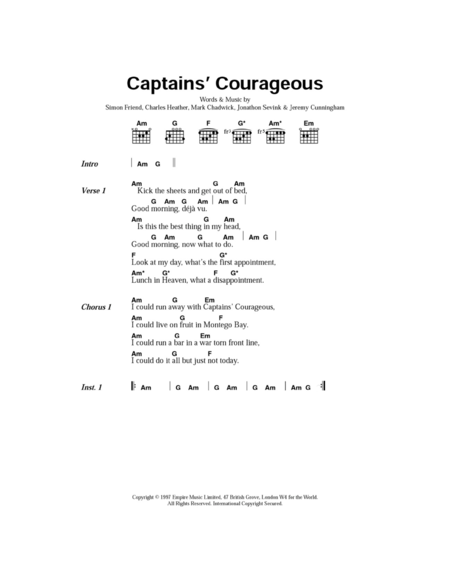 Captain's Courageous