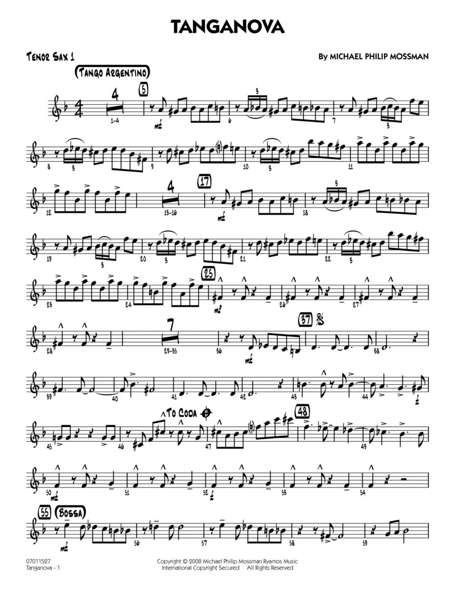 Tanganova - Tenor Sax 1