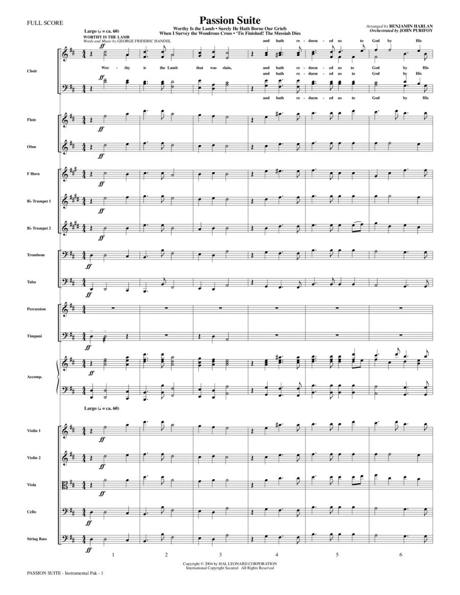 Passion Suite - Full Score