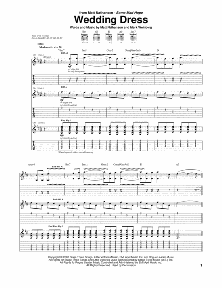 Guitar : wedding dress guitar tabs Wedding Dress - Wedding Dress Guitar Tabsu201a Wedding Dress ...