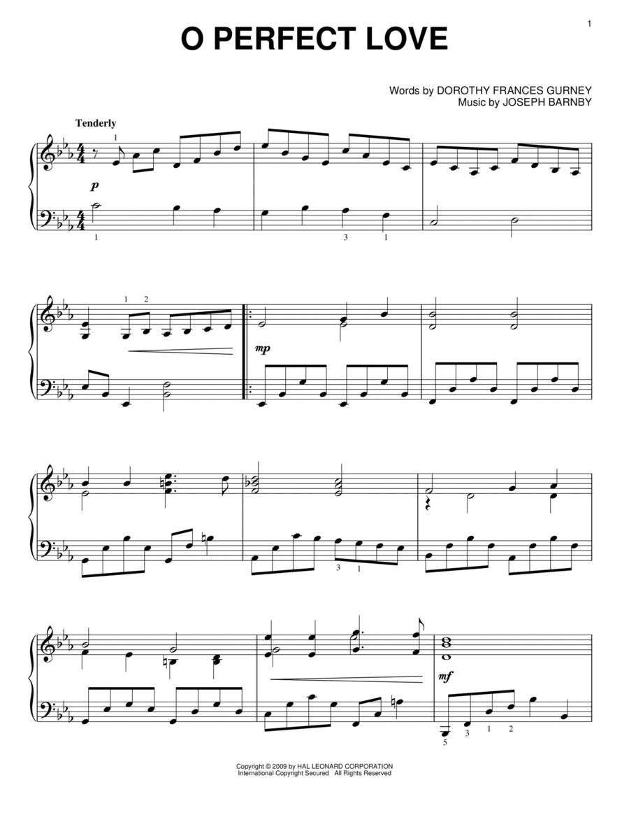 its a perfect relationship sheet music free