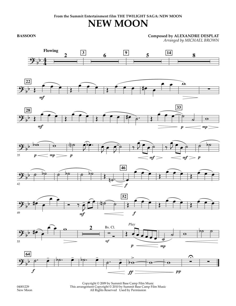 New Moon (The Meadow) - Bassoon