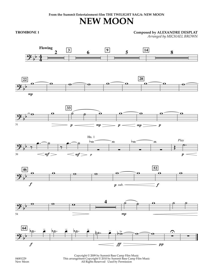 New Moon (The Meadow) - Trombone 1