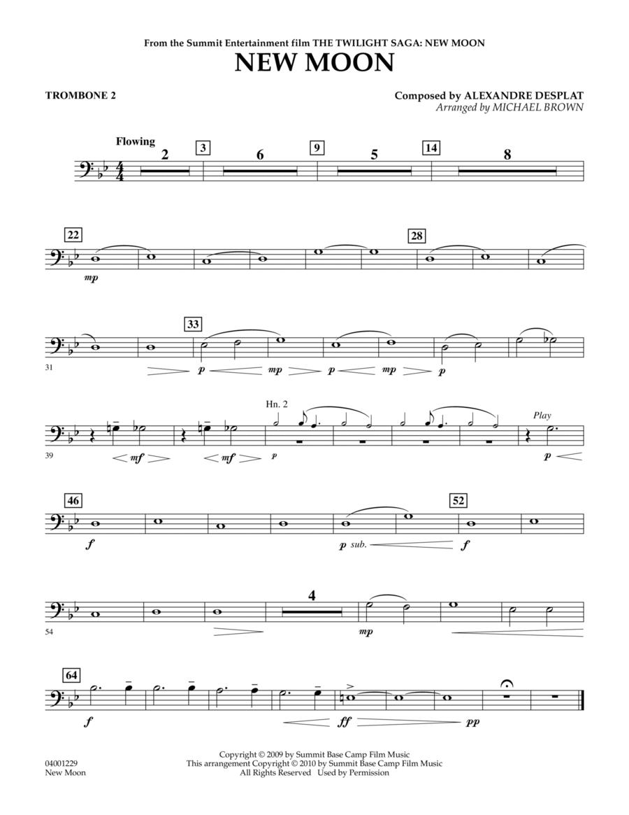 New Moon (The Meadow) - Trombone 2