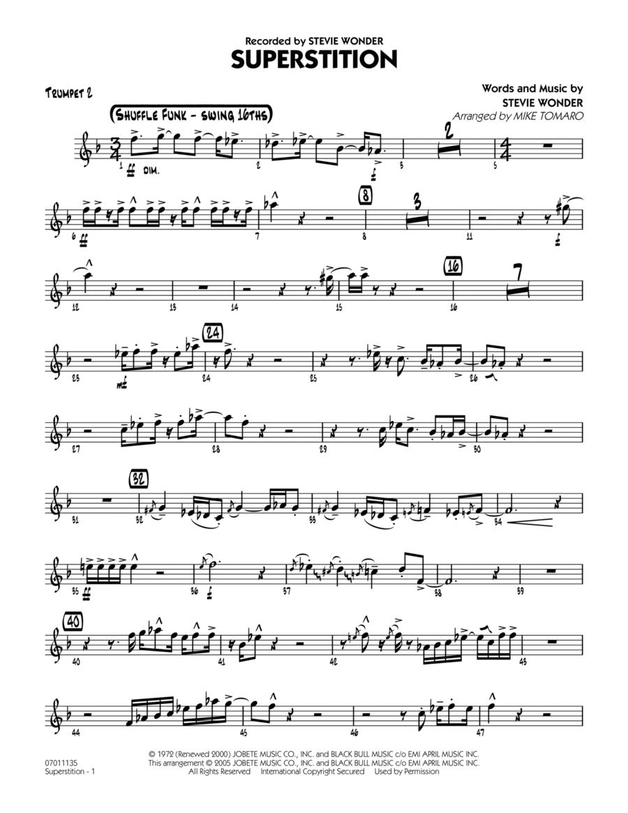 Superstition - Trumpet 2