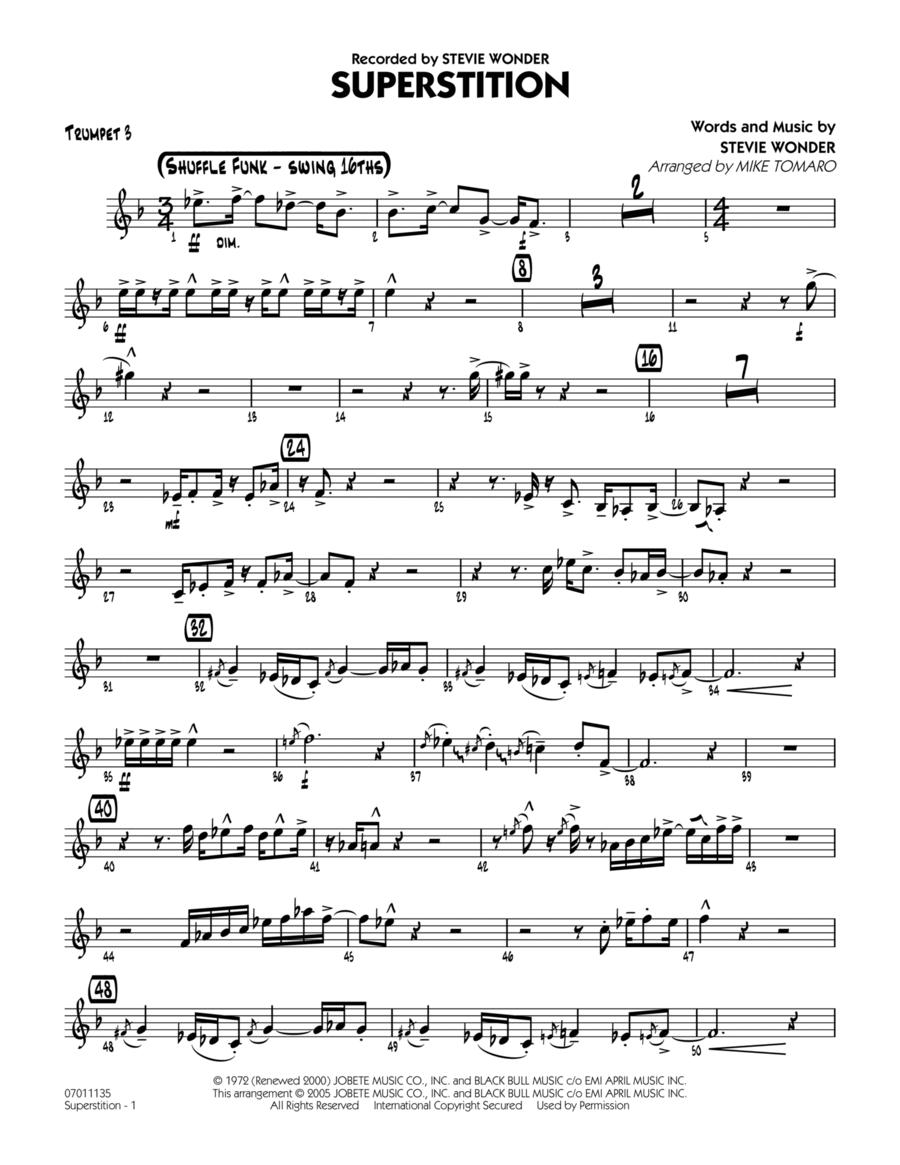 Superstition - Trumpet 3