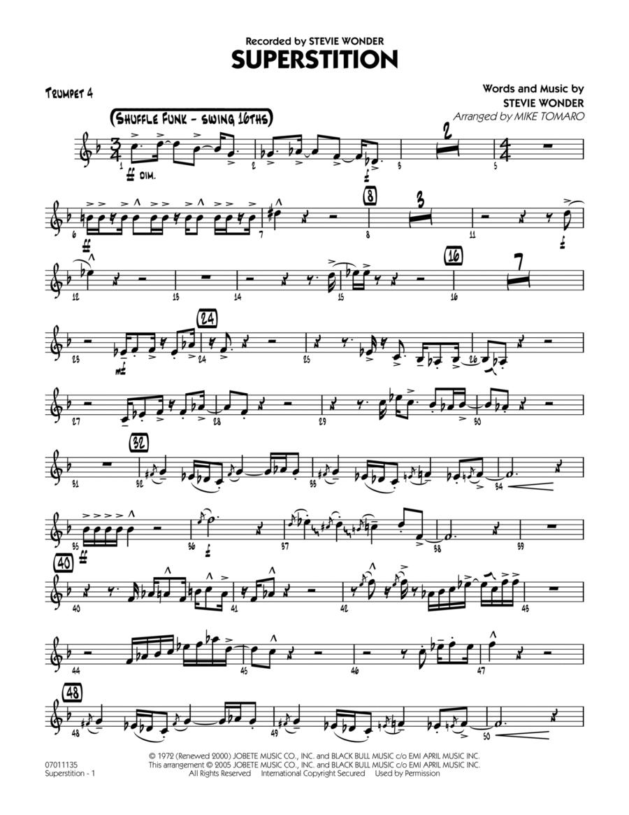 Superstition - Trumpet 4
