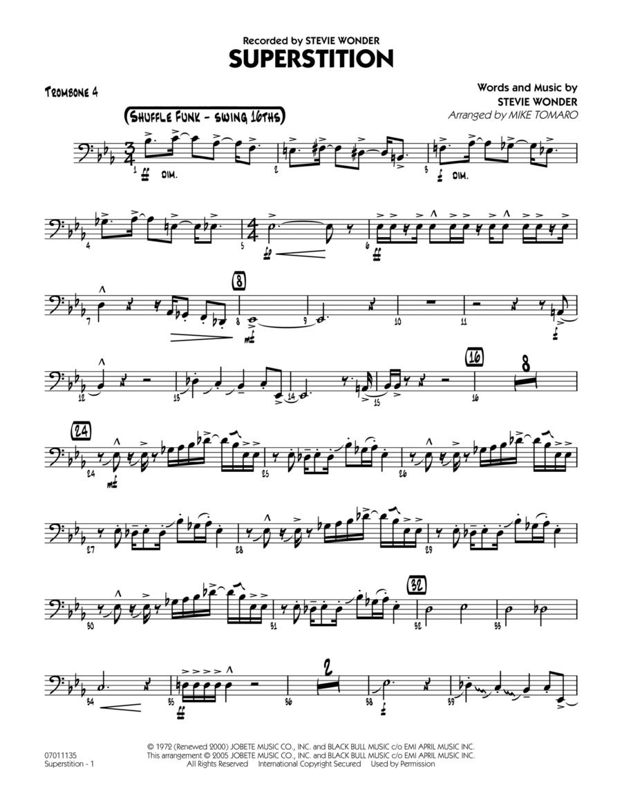 Superstition - Trombone 4