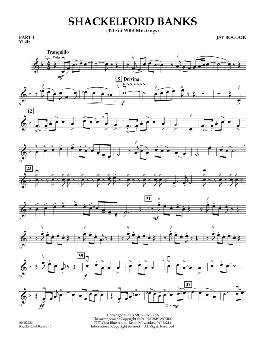 Shackelford Banks (Tale of Wild Mustangs) - Pt.1 - Violin