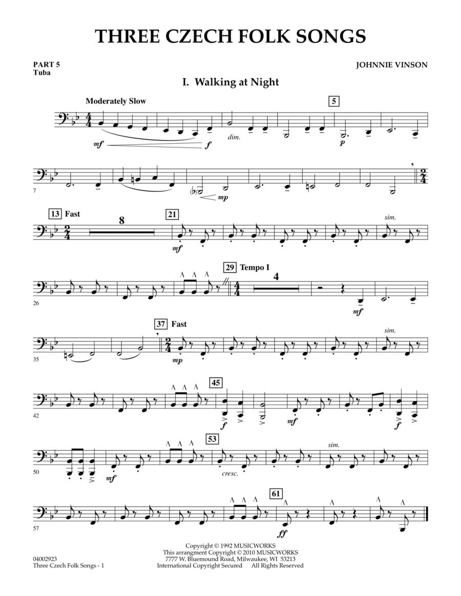 Three Czech Folk Songs - Pt.5 - Tuba